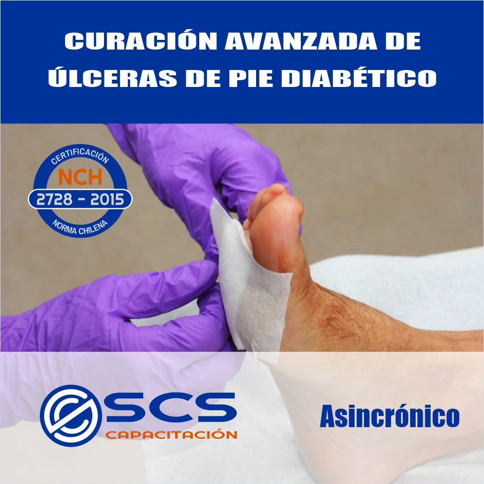 curacion de heridas pie dibetico