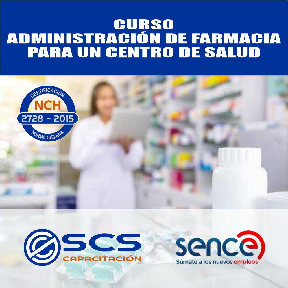 farmacia para un centro de salud